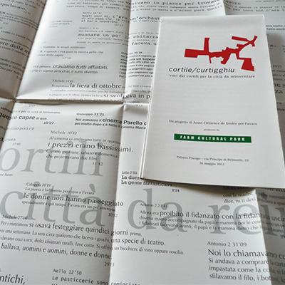 Cortile/Curtigghiu - La forma della città