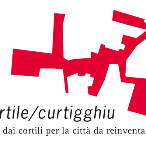 Cortile/Curtigghiu - La forma della città. Logo progetto.