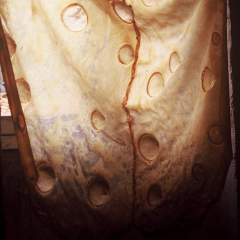 À mon seul desir - Mue, 1994. Lattice, mollette da disegno (130x190 cm).