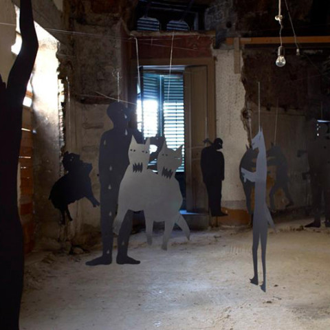 L'ora del lupo - Progetto Installazione | Ph. Giacomo D'Agguanno
