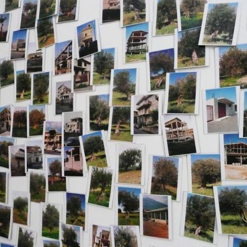 Quoi de nouveau sous le soleil? - Installazione fotografica in situ (ogni fotogramma 8x10 cm).