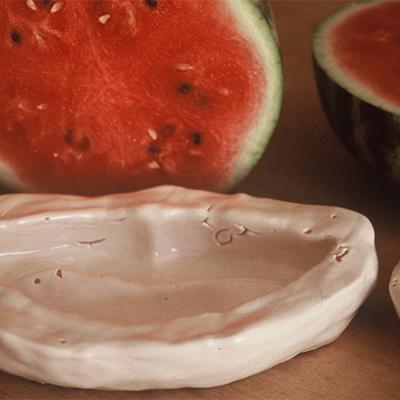 Sirene - Délicieuses, 1996 Gelo di anguria. Varie dimensioni.