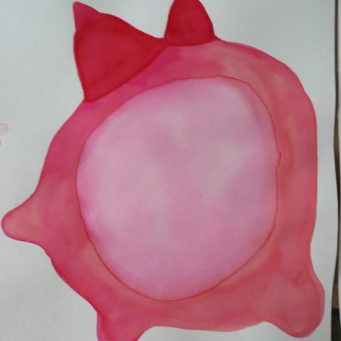 Sirene - Strange fruit, 2008. Disegni all'inchiostro su carta Murillo (25,5x28,5 cm cad.).