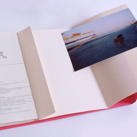 Transiti/Incroci - Il paesaggio in transito. Opera di Anne Deguelle.