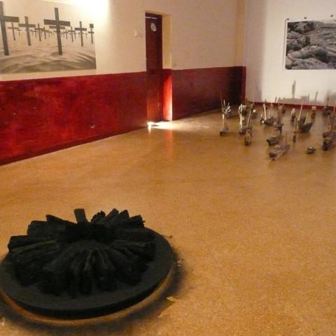 Opere di Antonio Micciché e Hilde Margani - Mostra Hôtel des Etrangers, a cura di Giusi Diana, Laboratorio Zeta, Palermo