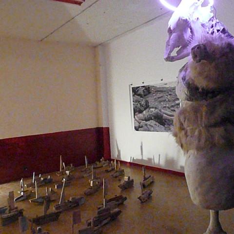 Opere Philippe Berson - Mostra Hôtel des Etrangers, a cura di Giusi Diana, Laboratorio Zeta, Palermo