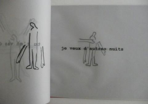 Premiers pas, 1996. Fotocopie B/N su carta da lucido. Spillate. Copertina in carta Murillo colorata (formato A4).