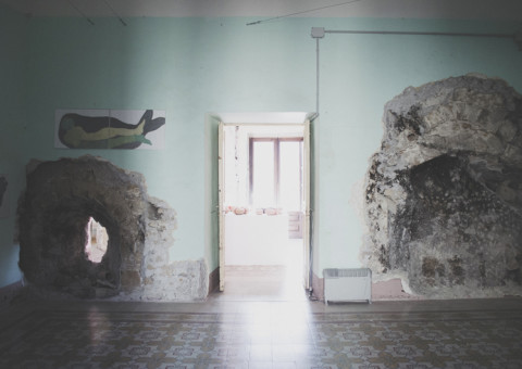 Une Île À Soi - muRa Racalmuto - Foto Nadia Spanò